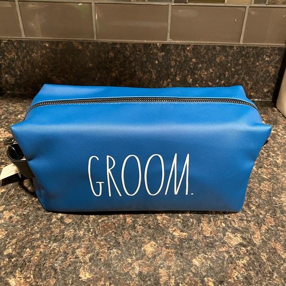 Rae Dunn Groom Travel Bag